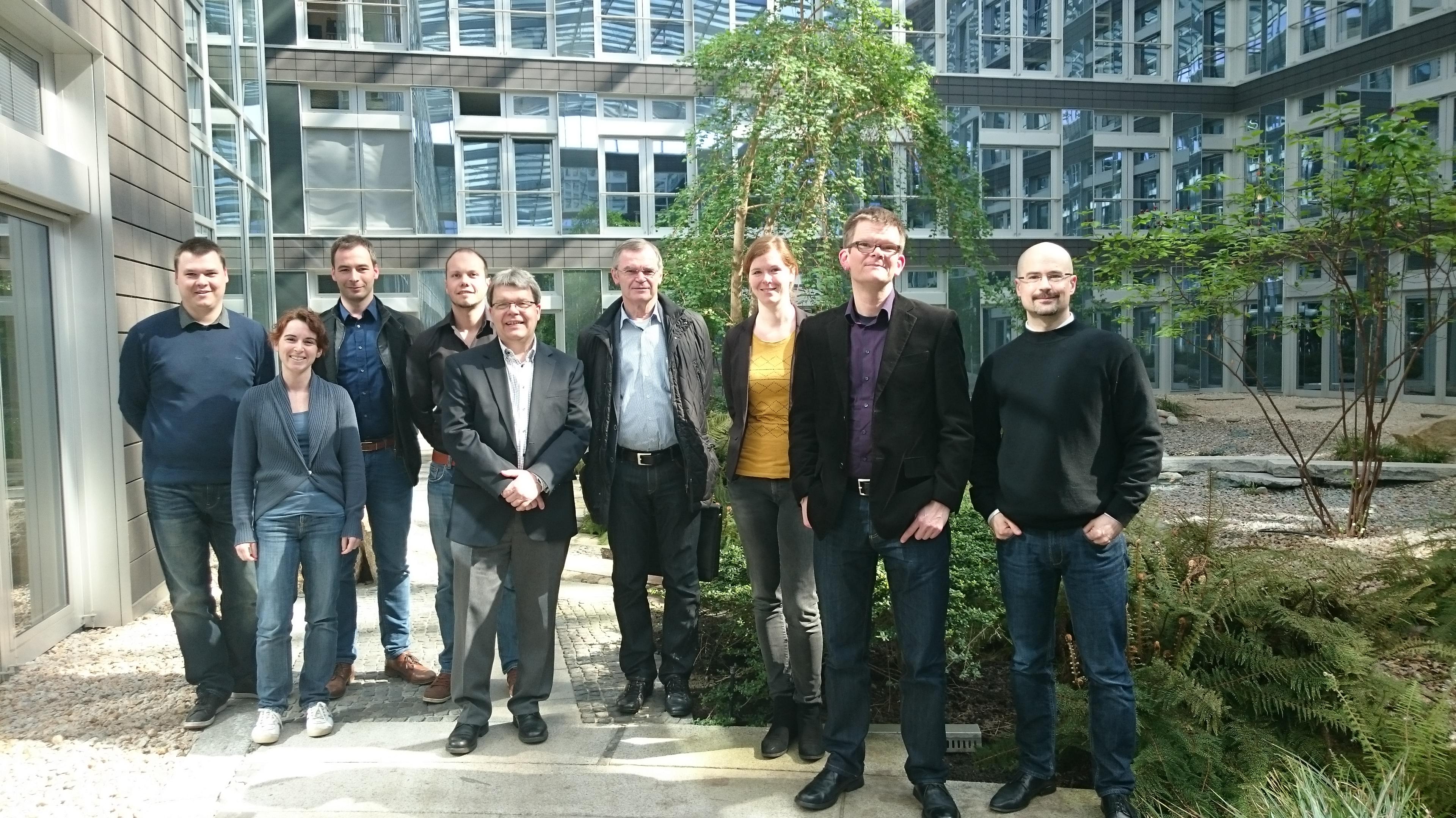 Gruppenbild Projektpartner DigilernPro